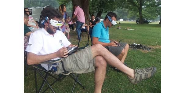 Drone Yarışmasında Birincilik Seçkin Okebe'nin