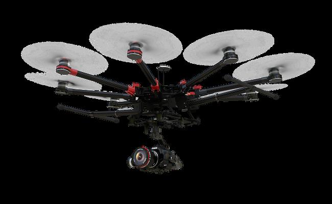 DJİ S 1000 DRONE